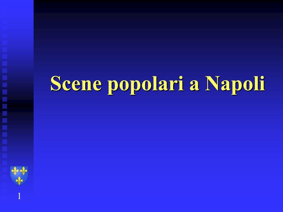 Scene popolari a Napoli