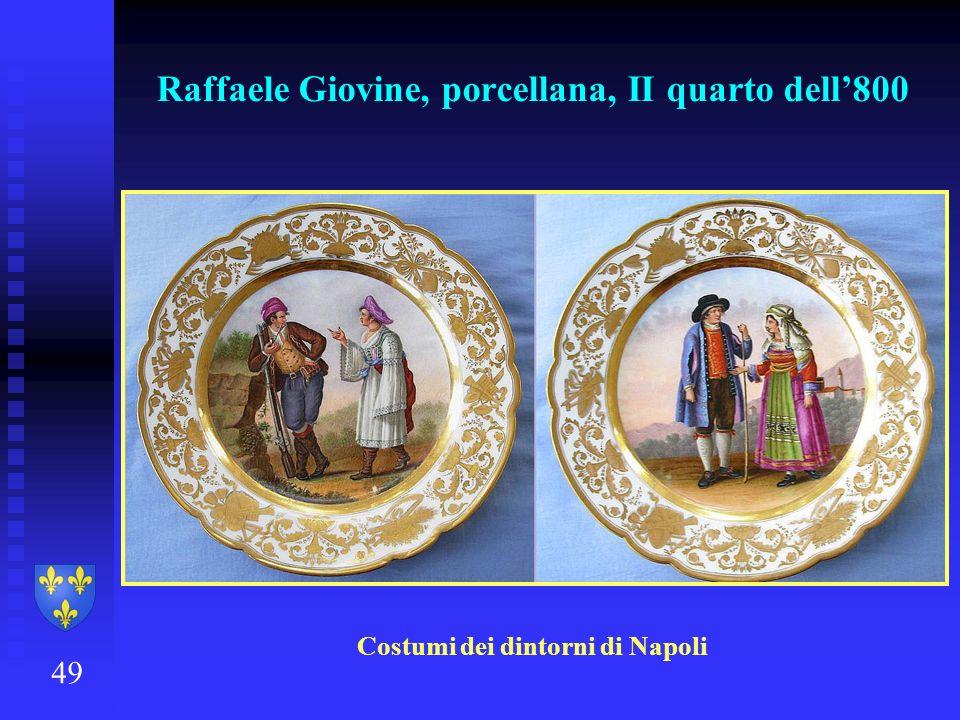 Raffaele Giovine, porcellana, II quarto dell'800