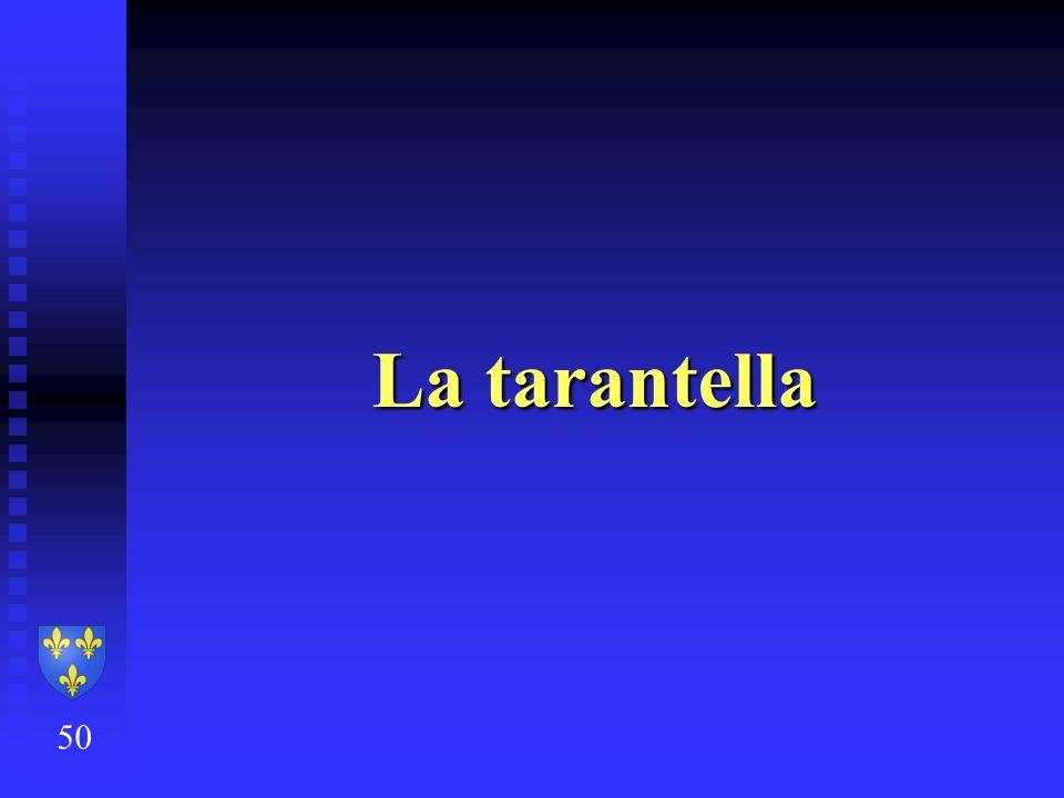 La tarantella 50