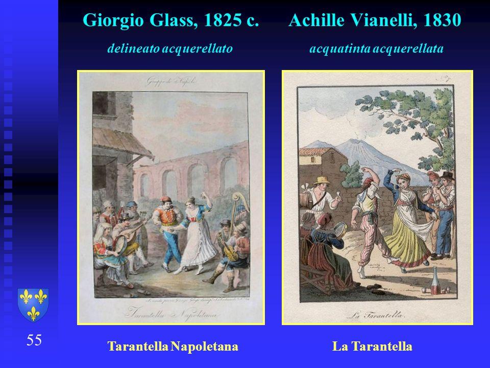Giorgio Glass, 1825 c. Achille Vianelli, 1830