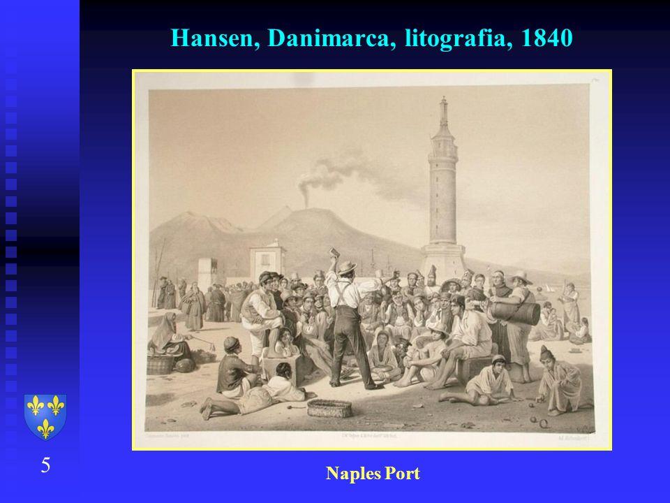 Hansen, Danimarca, litografia, 1840