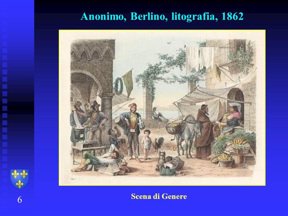 Anonimo, Berlino, litografia, 1862