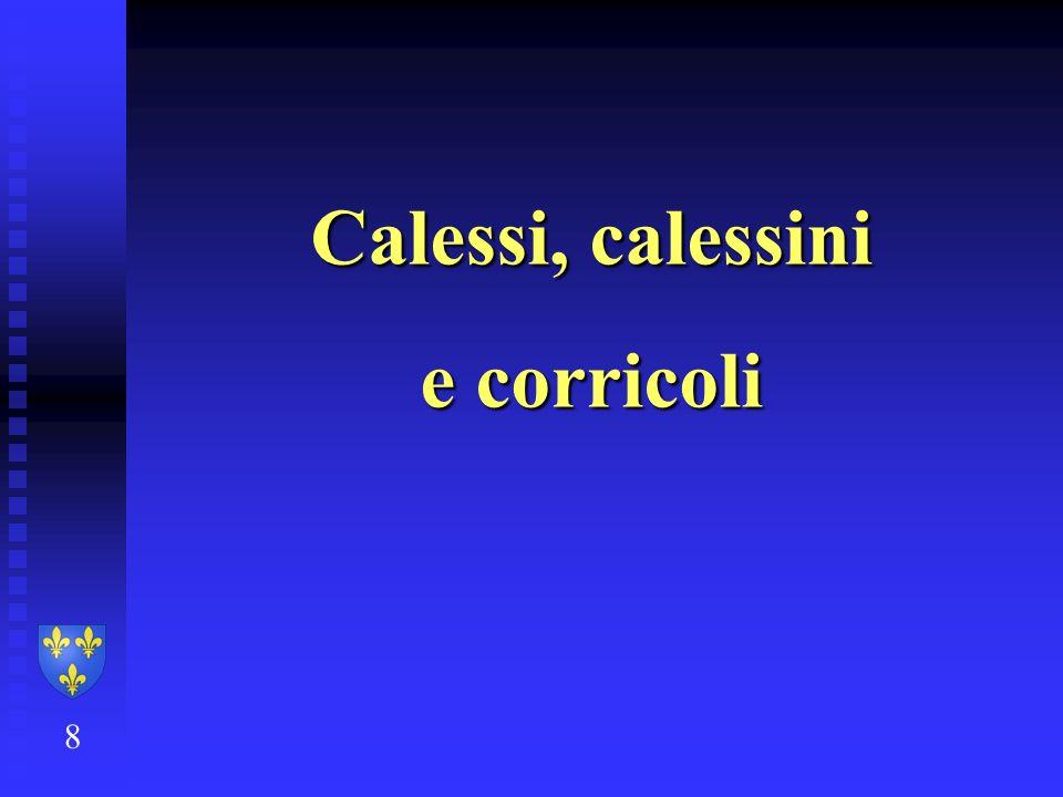 Calessi, calessini e corricoli