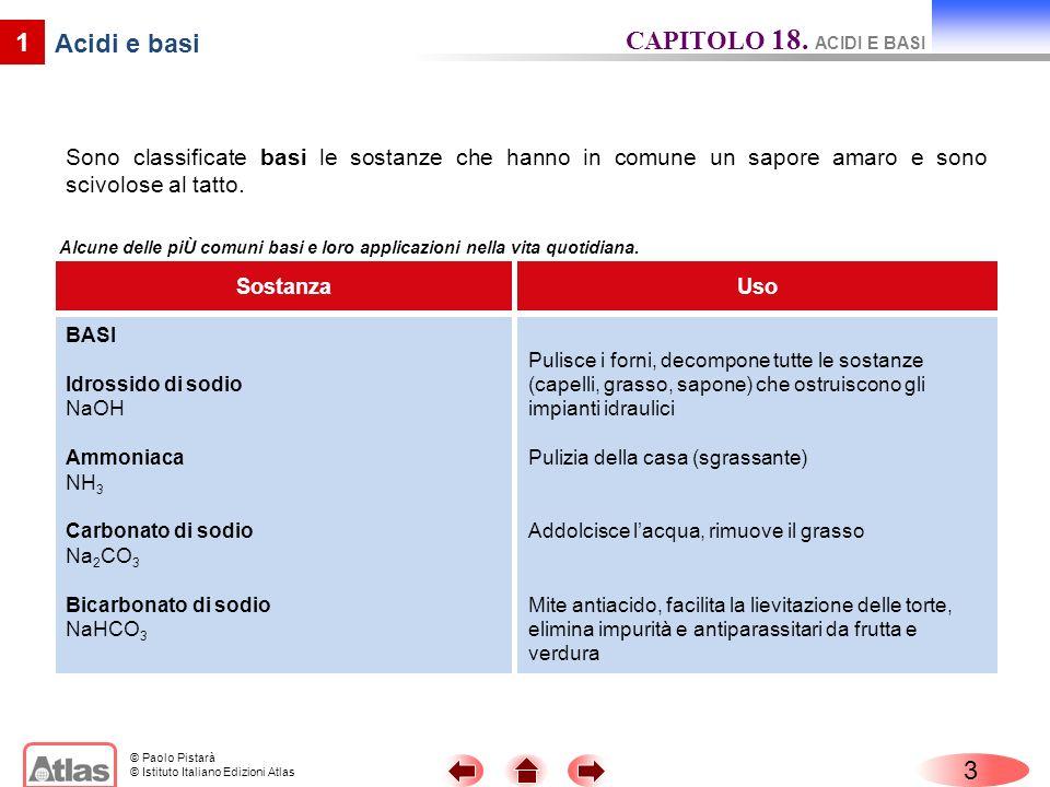 CAPITOLO 18. ACIDI E BASI 1 Acidi e basi 3