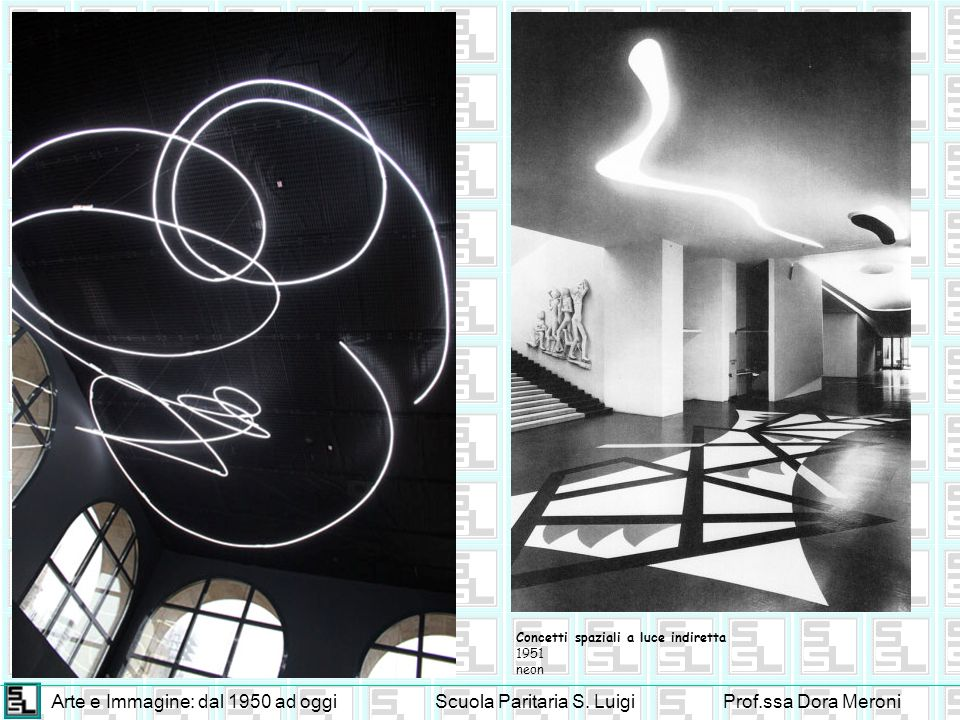 Arte e Immagine: dal 1950 ad oggi Scuola Paritaria S. Luigi