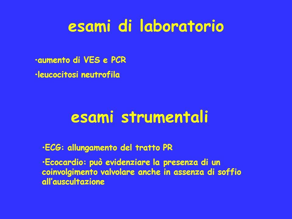 esami di laboratorio esami strumentali