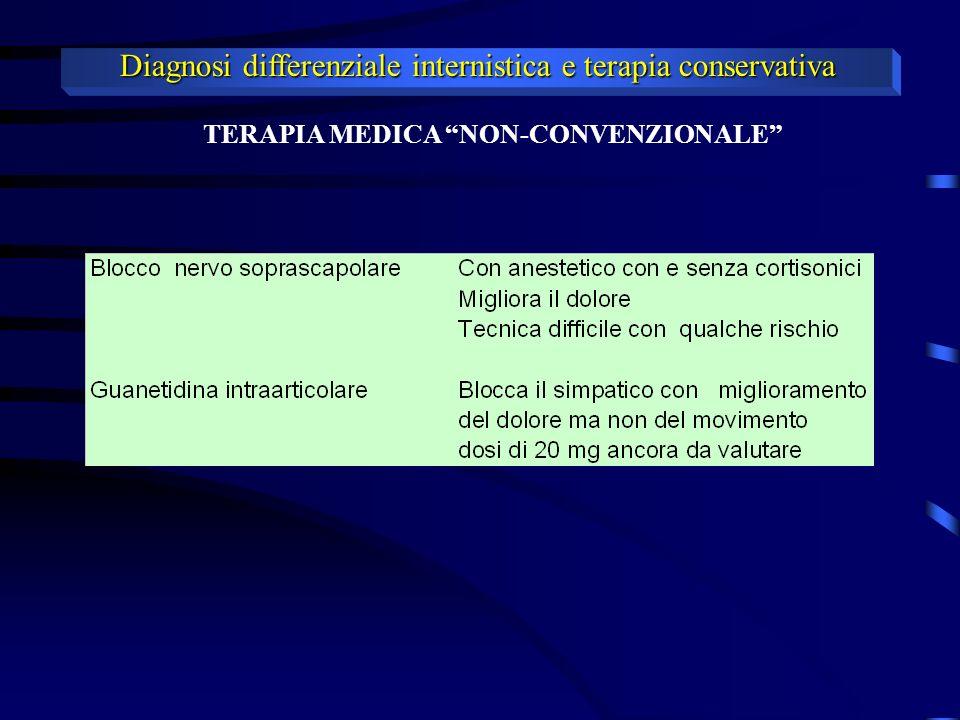 TERAPIA MEDICA NON-CONVENZIONALE