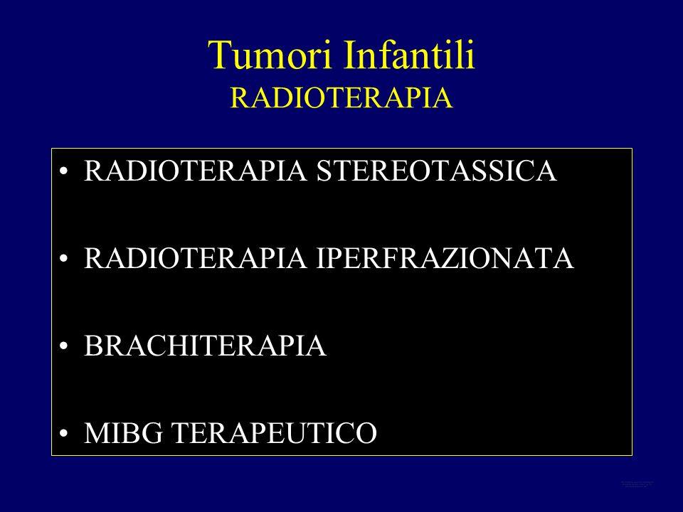 Tumori Infantili RADIOTERAPIA