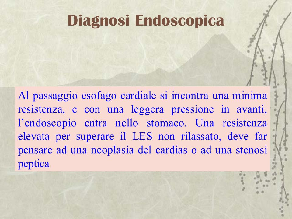 Diagnosi Endoscopica