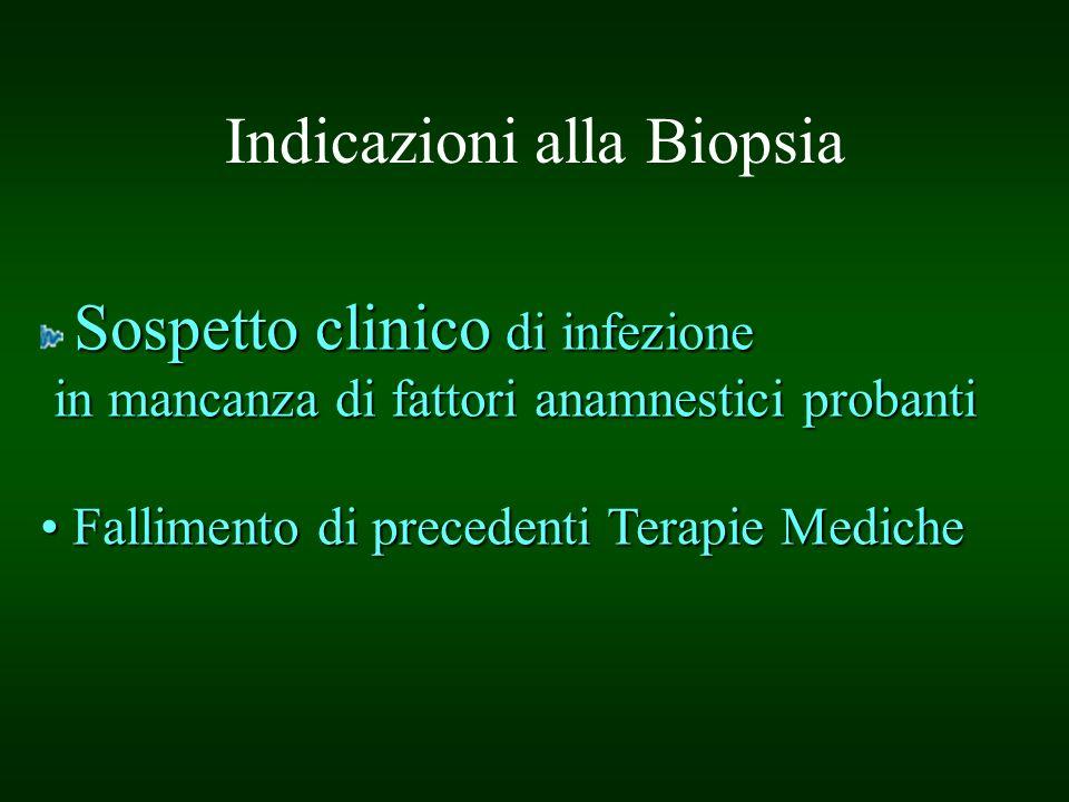 Indicazioni alla Biopsia