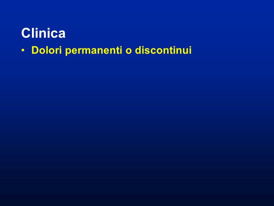 Clinica Dolori permanenti o discontinui