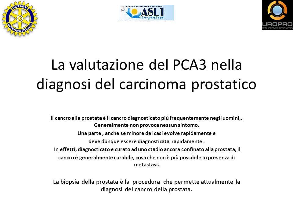 La valutazione del PCA3 nella diagnosi del carcinoma prostatico