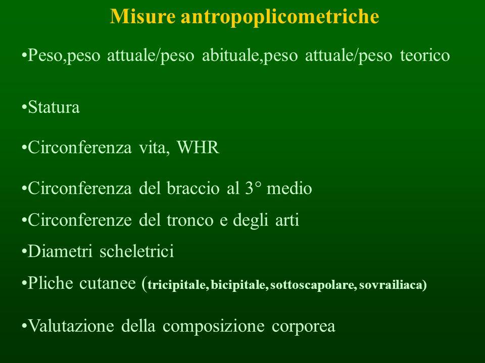 Misure antropoplicometriche