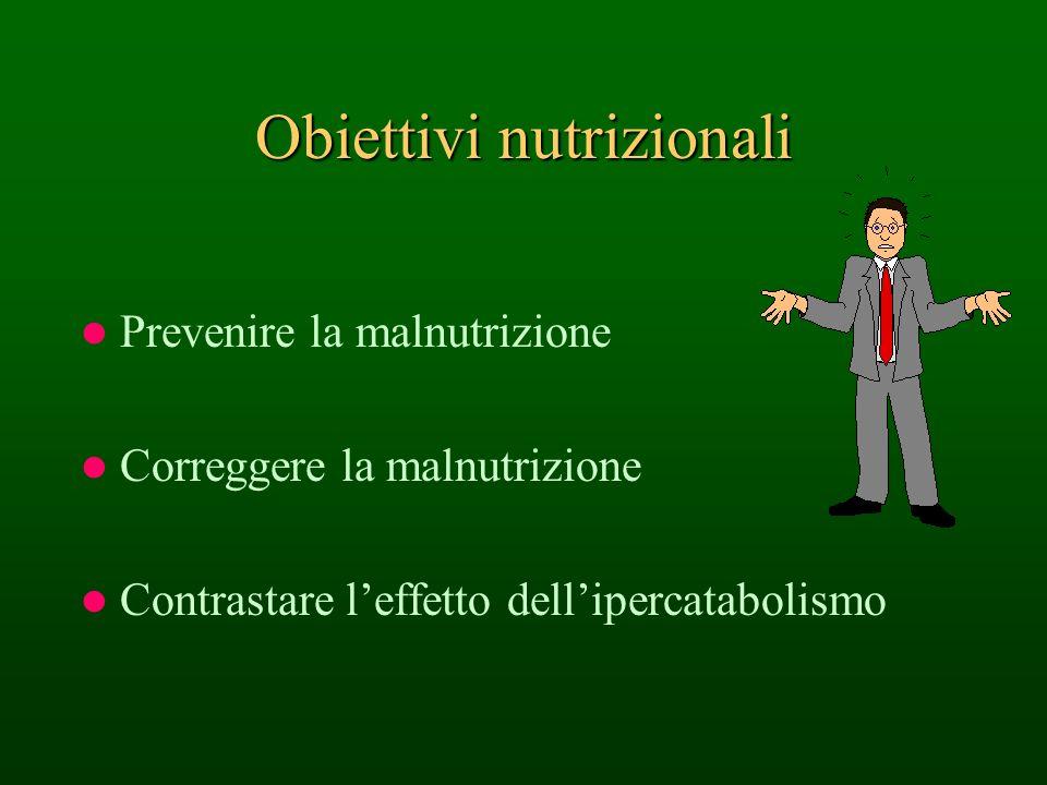 Obiettivi nutrizionali