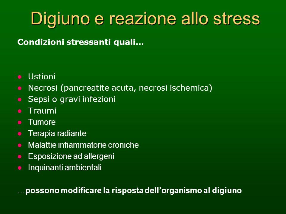 Digiuno e reazione allo stress