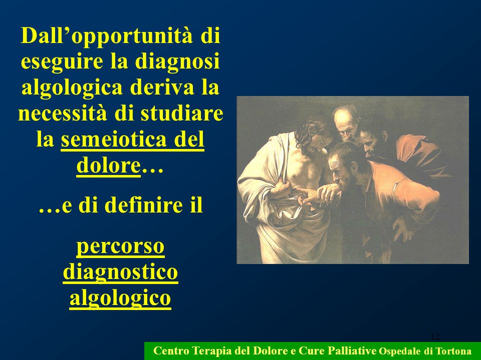 percorso diagnostico algologico