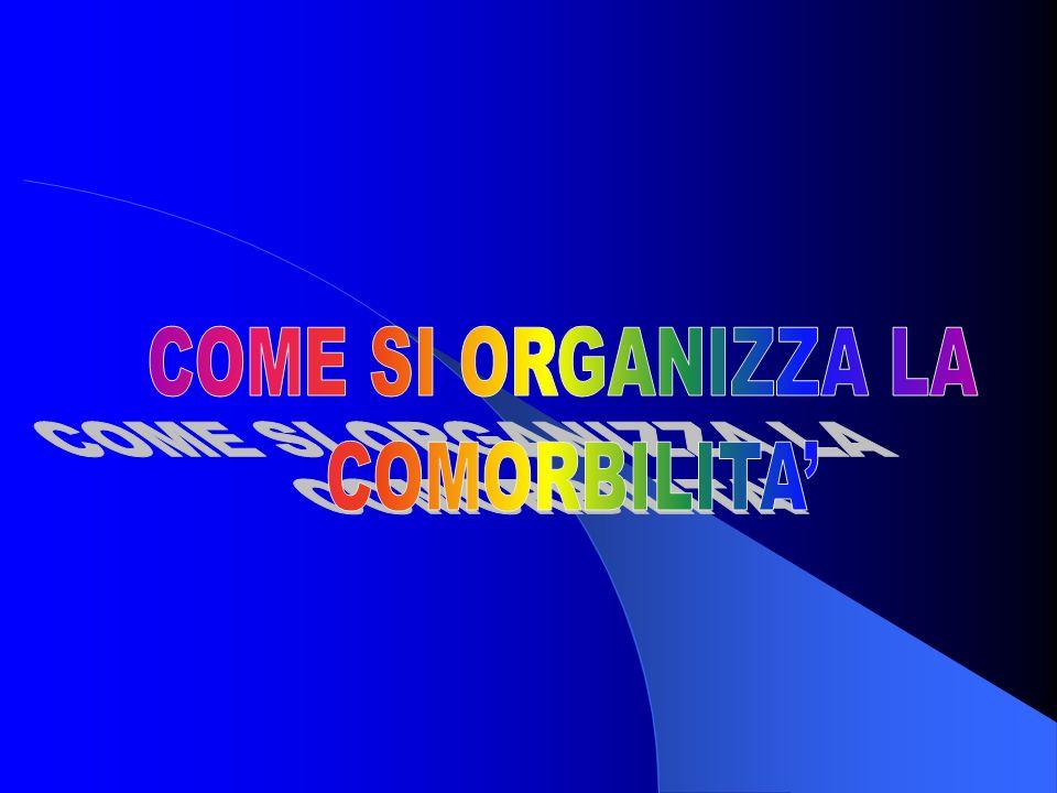 COME SI ORGANIZZA LA COMORBILITA'
