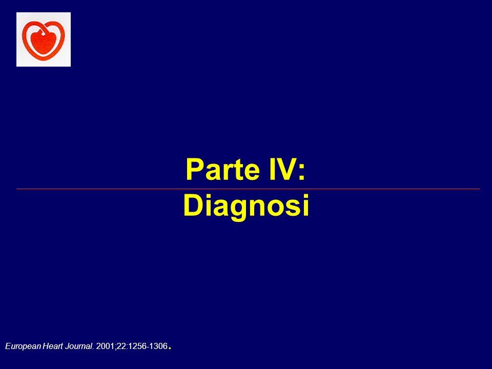 Parte IV: Diagnosi