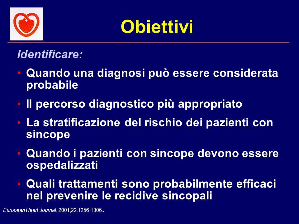 Obiettivi Identificare: