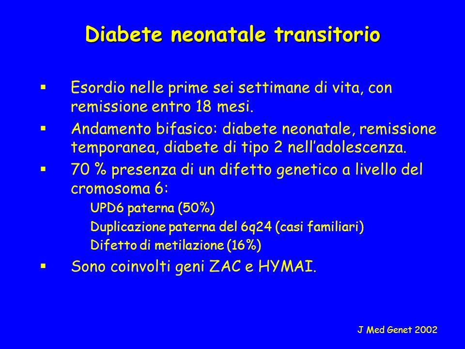 Diabete neonatale transitorio