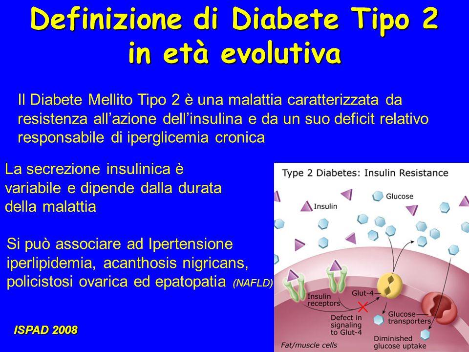 Definizione di Diabete Tipo 2 in età evolutiva