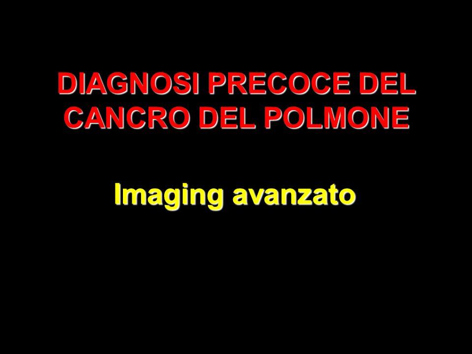 DIAGNOSI PRECOCE DEL CANCRO DEL POLMONE