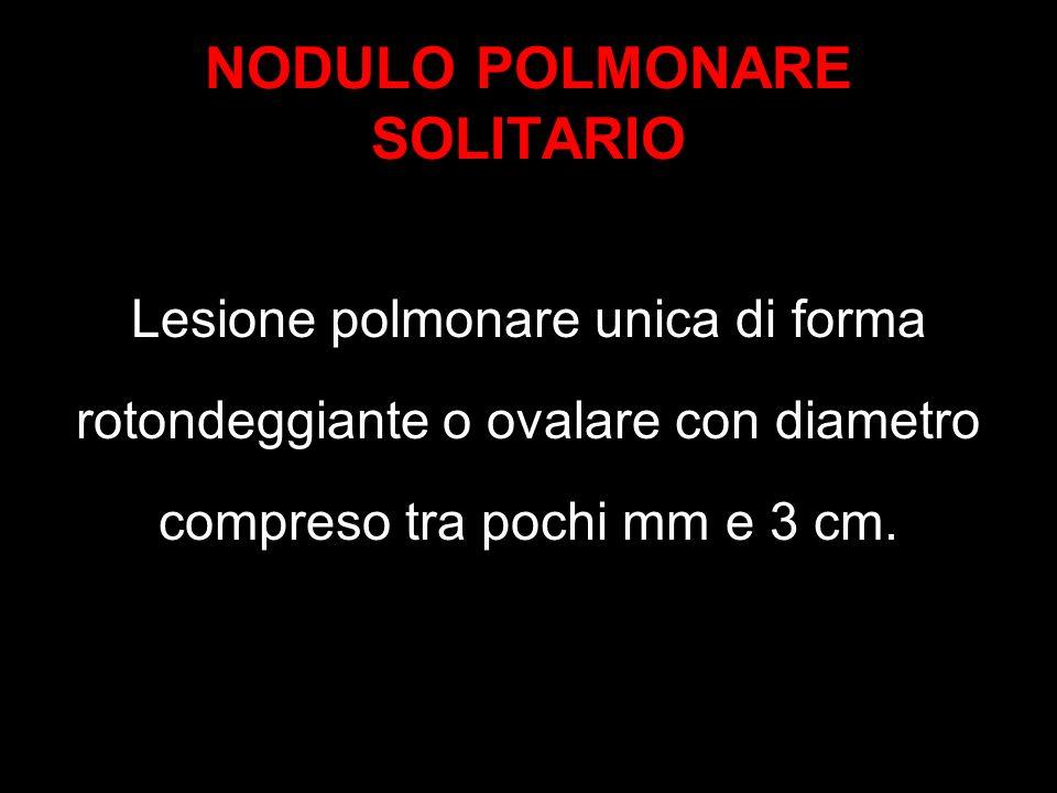 NODULO POLMONARE SOLITARIO