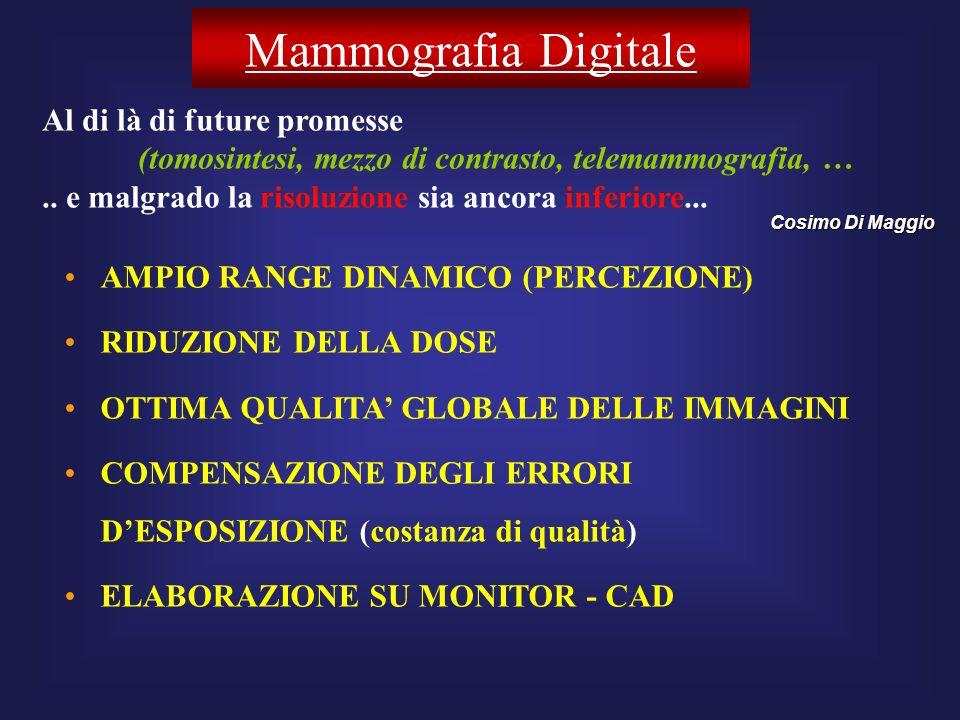Mammografia Digitale Al di là di future promesse