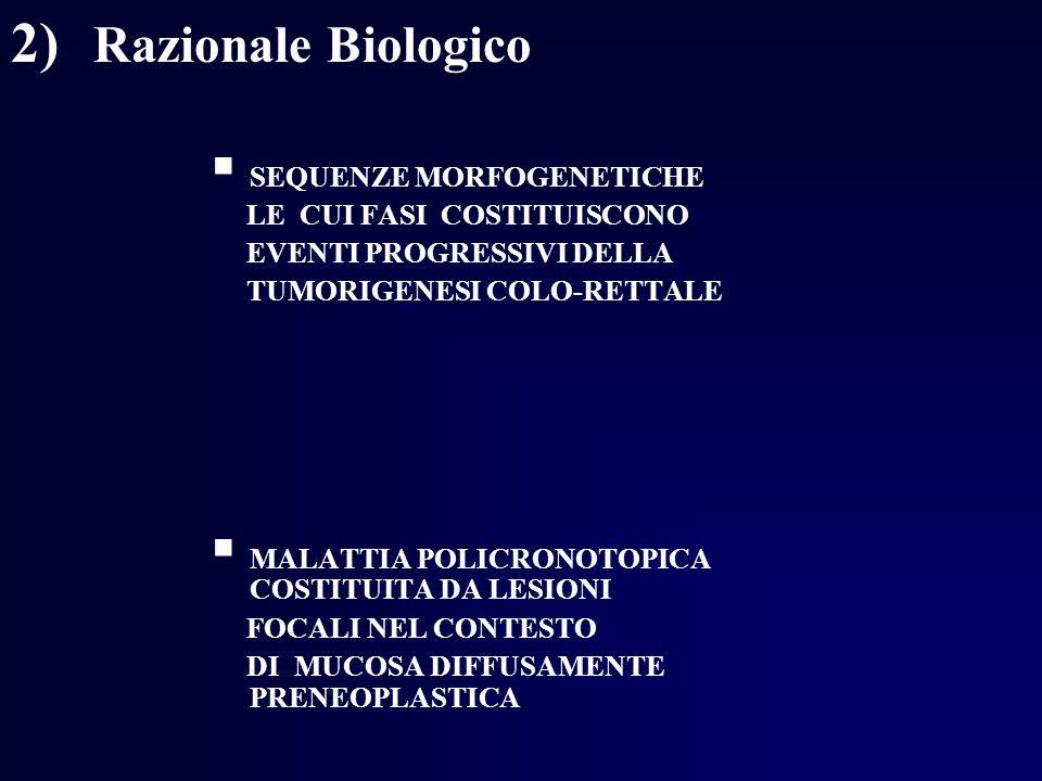 2) Razionale Biologico SEQUENZE MORFOGENETICHE