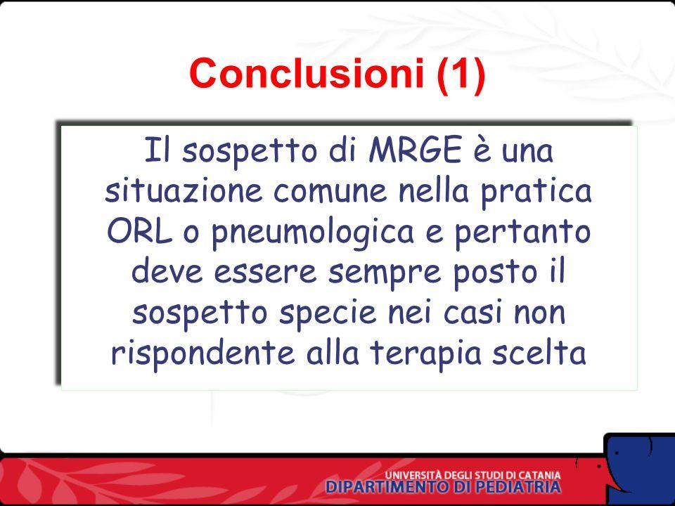 Conclusioni (1) Conclusioni (1)