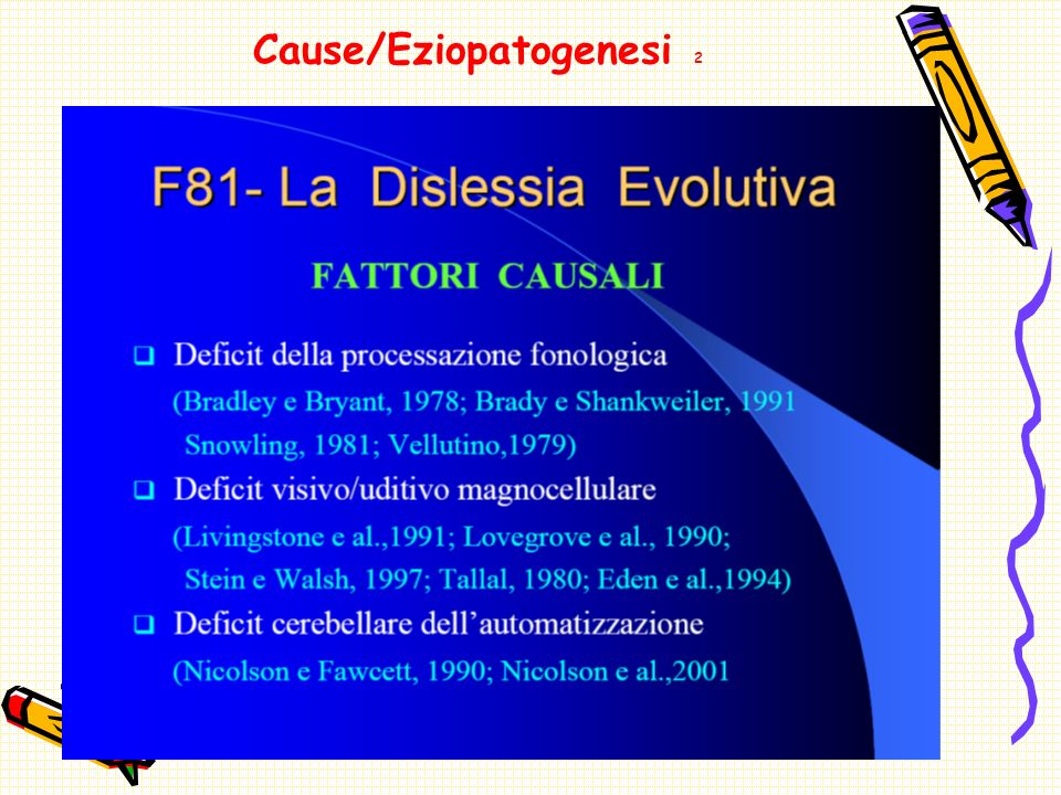 Cause/Eziopatogenesi 2