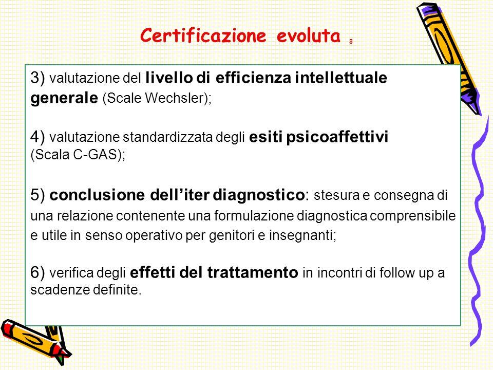 Certificazione evoluta 3