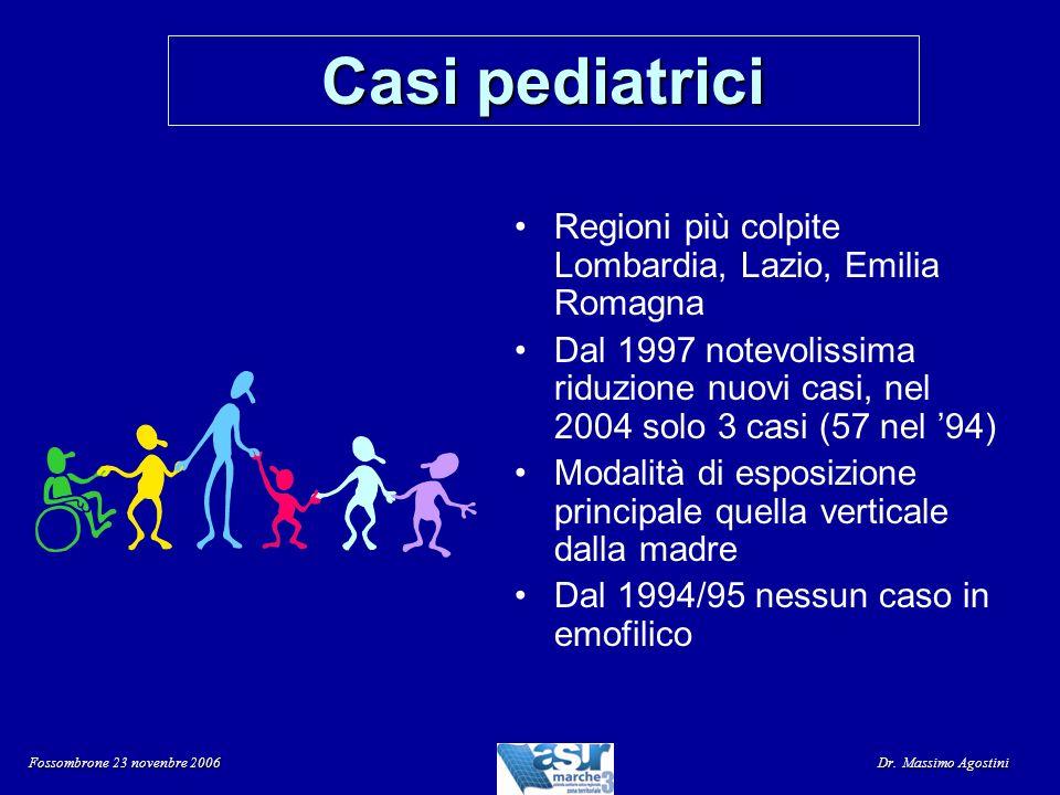 Casi pediatrici Regioni più colpite Lombardia, Lazio, Emilia Romagna