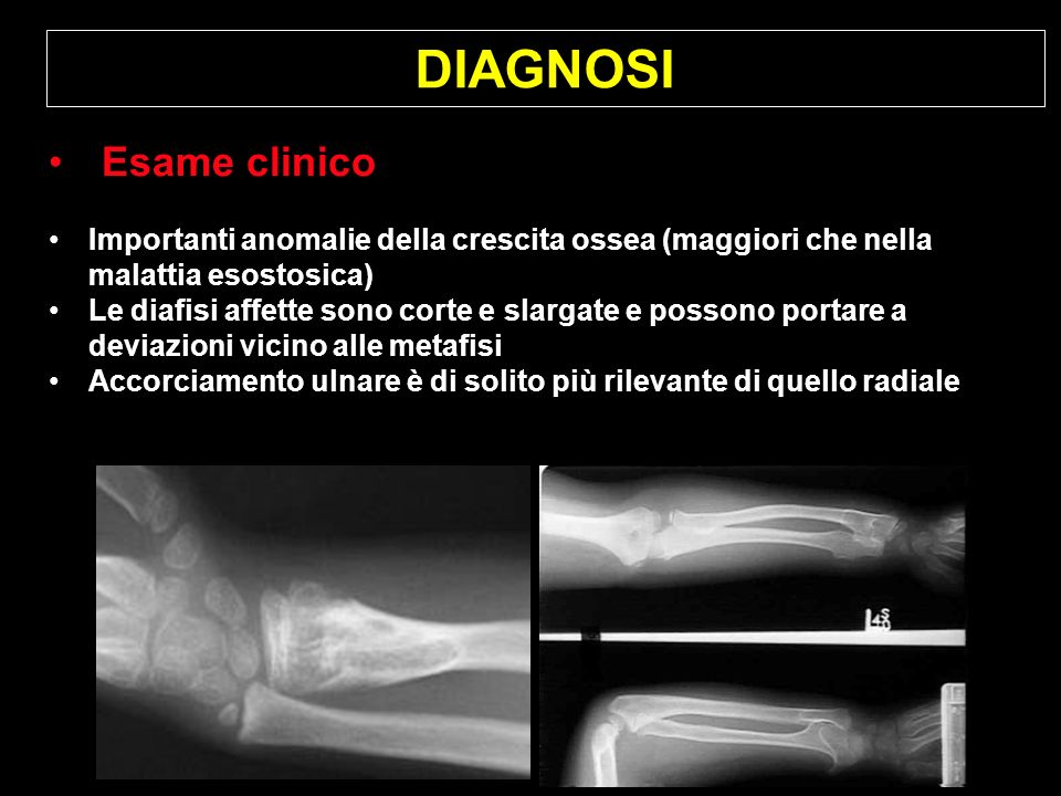DIAGNOSI Esame clinico