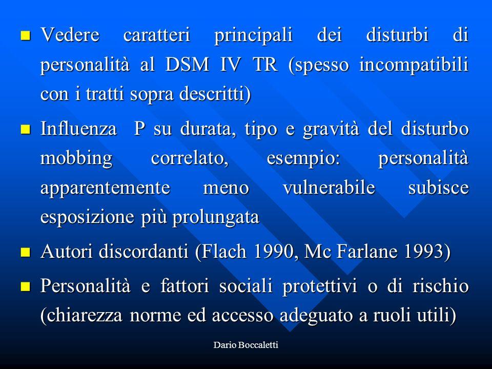 Autori discordanti (Flach 1990, Mc Farlane 1993)