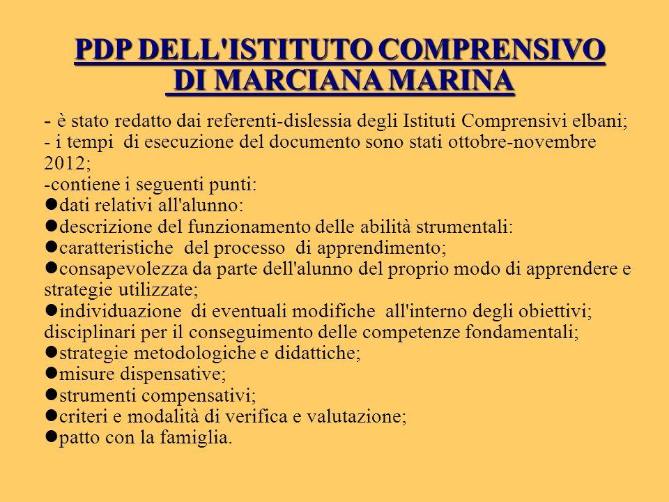 PDP DELL ISTITUTO COMPRENSIVO