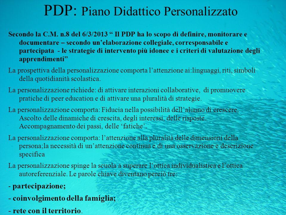 PDP: Piano Didattico Personalizzato