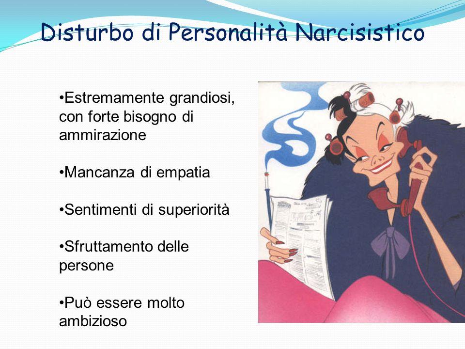 Disturbo di Personalità Narcisistico