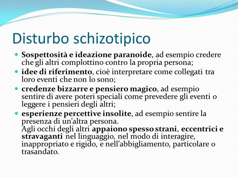 Disturbo schizotipico