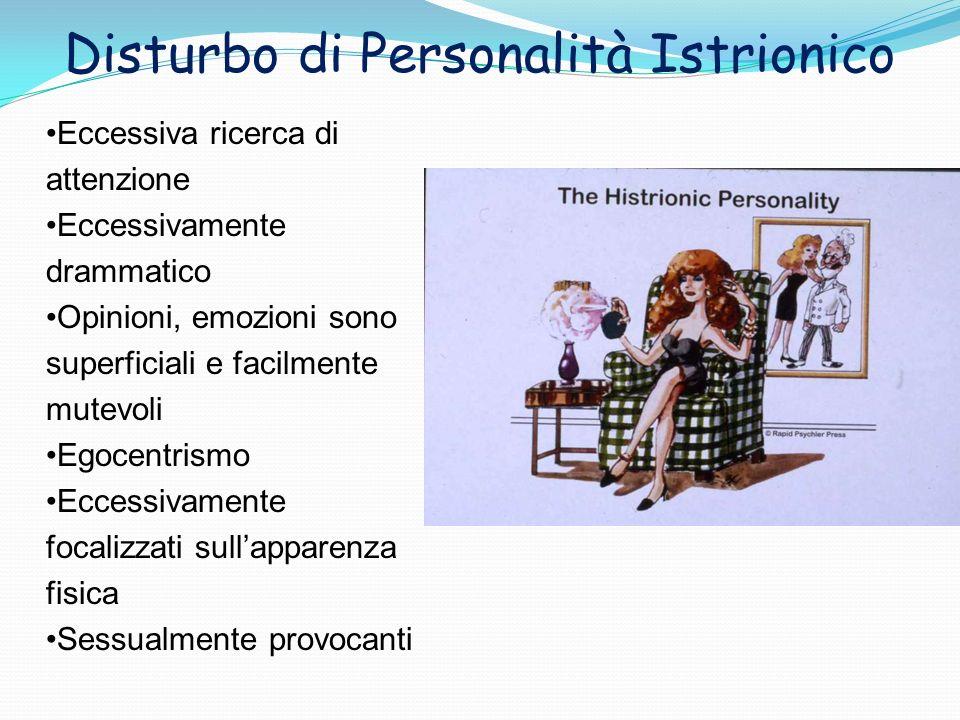 Disturbo di Personalità Istrionico