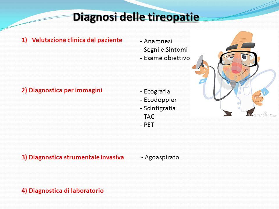 Diagnosi delle tireopatie