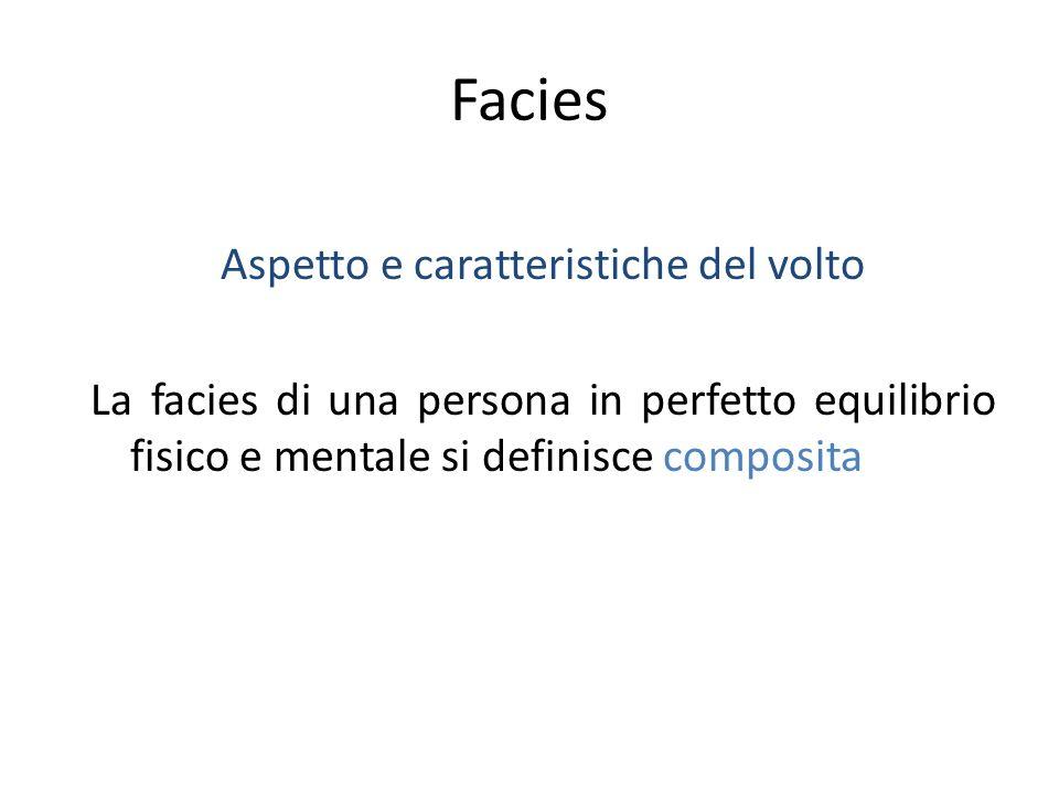 Aspetto e caratteristiche del volto