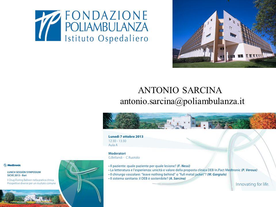 ANTONIO SARCINA antonio.sarcina@poliambulanza.it