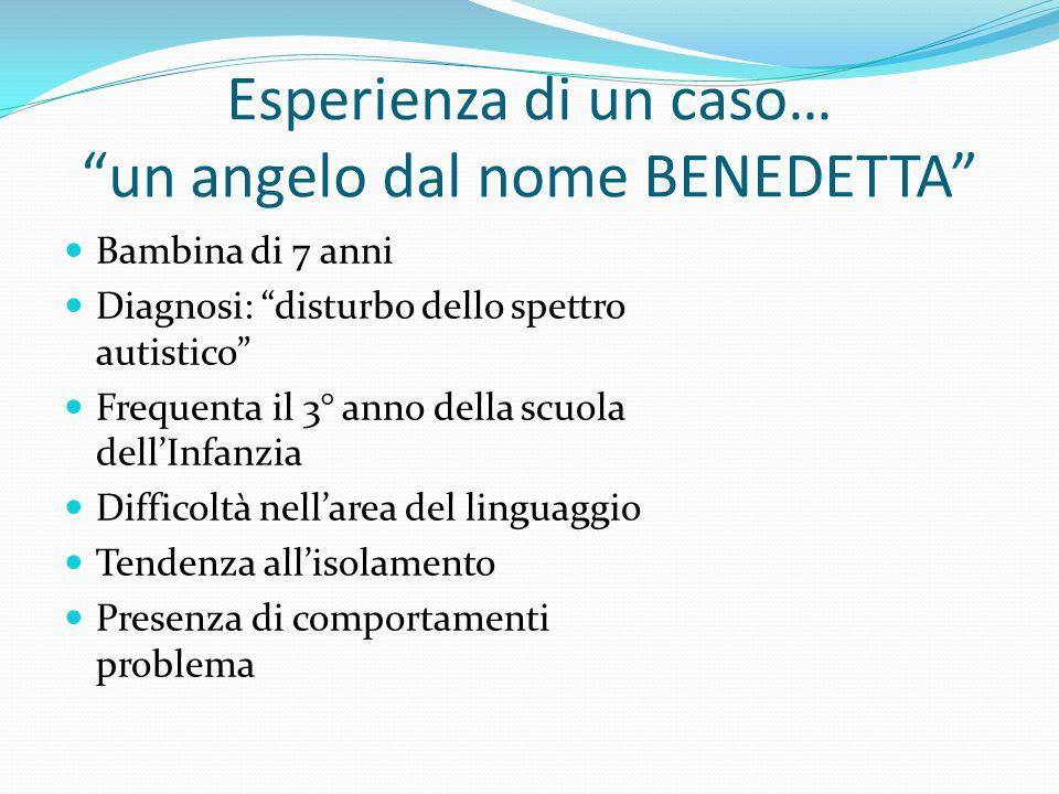 Esperienza di un caso… un angelo dal nome BENEDETTA