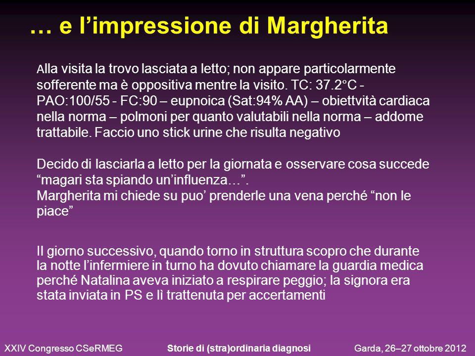 … e l'impressione di Margherita