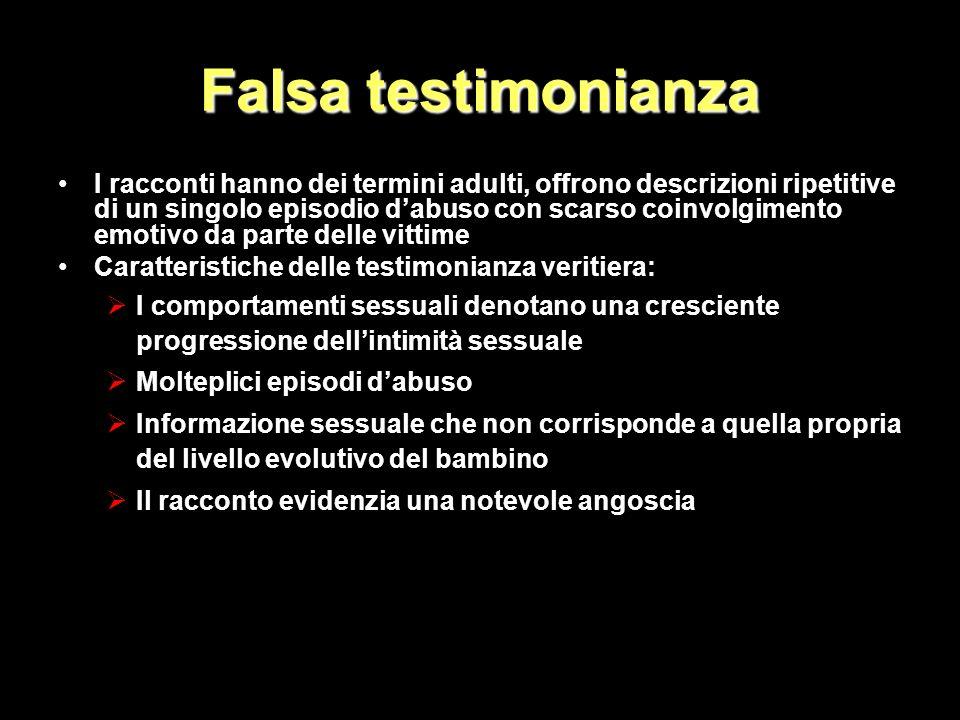 Falsa testimonianza