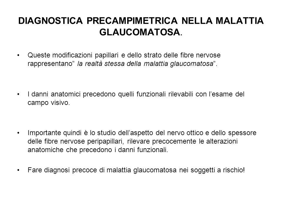 DIAGNOSTICA PRECAMPIMETRICA NELLA MALATTIA GLAUCOMATOSA.