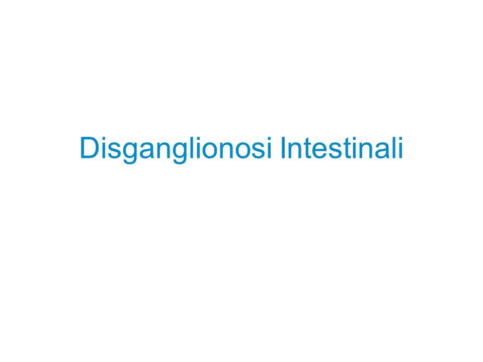 Disganglionosi Intestinali