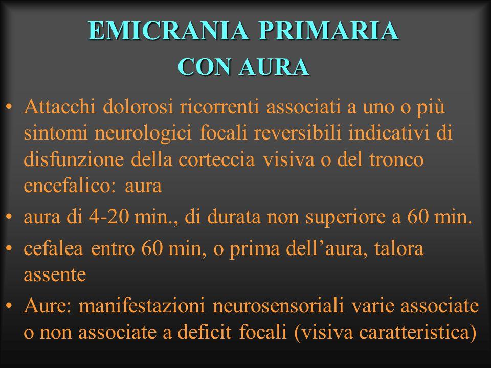 EMICRANIA PRIMARIA CON AURA
