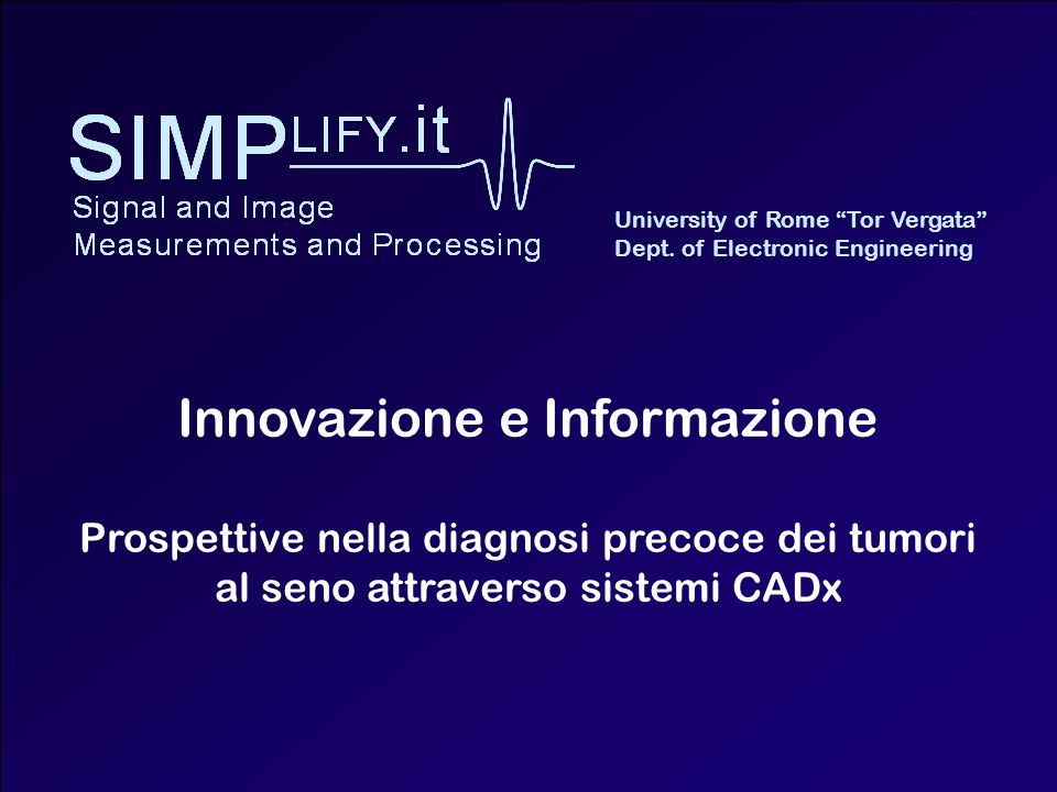 Innovazione e Informazione